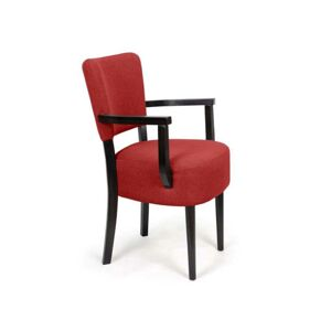 Židle Nisa Red Arms Simple Classic
