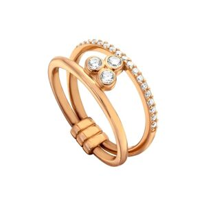 Prsten Esprit Berlin Rose Gold Tone 17 mm
