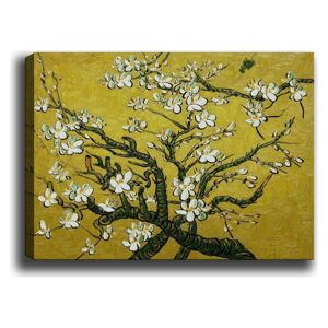 Obraz Branches of an Almond Tree in Yellow 100x140 cm